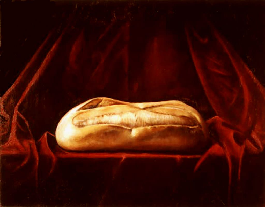 Bread ~ Painting by Brandon Kralik