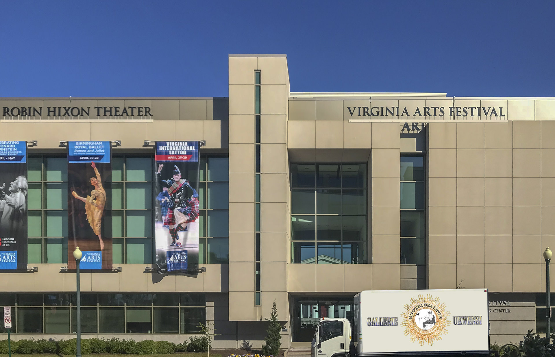 Robin Hixon Theater and Virginia Arts Festival Norfolk VA