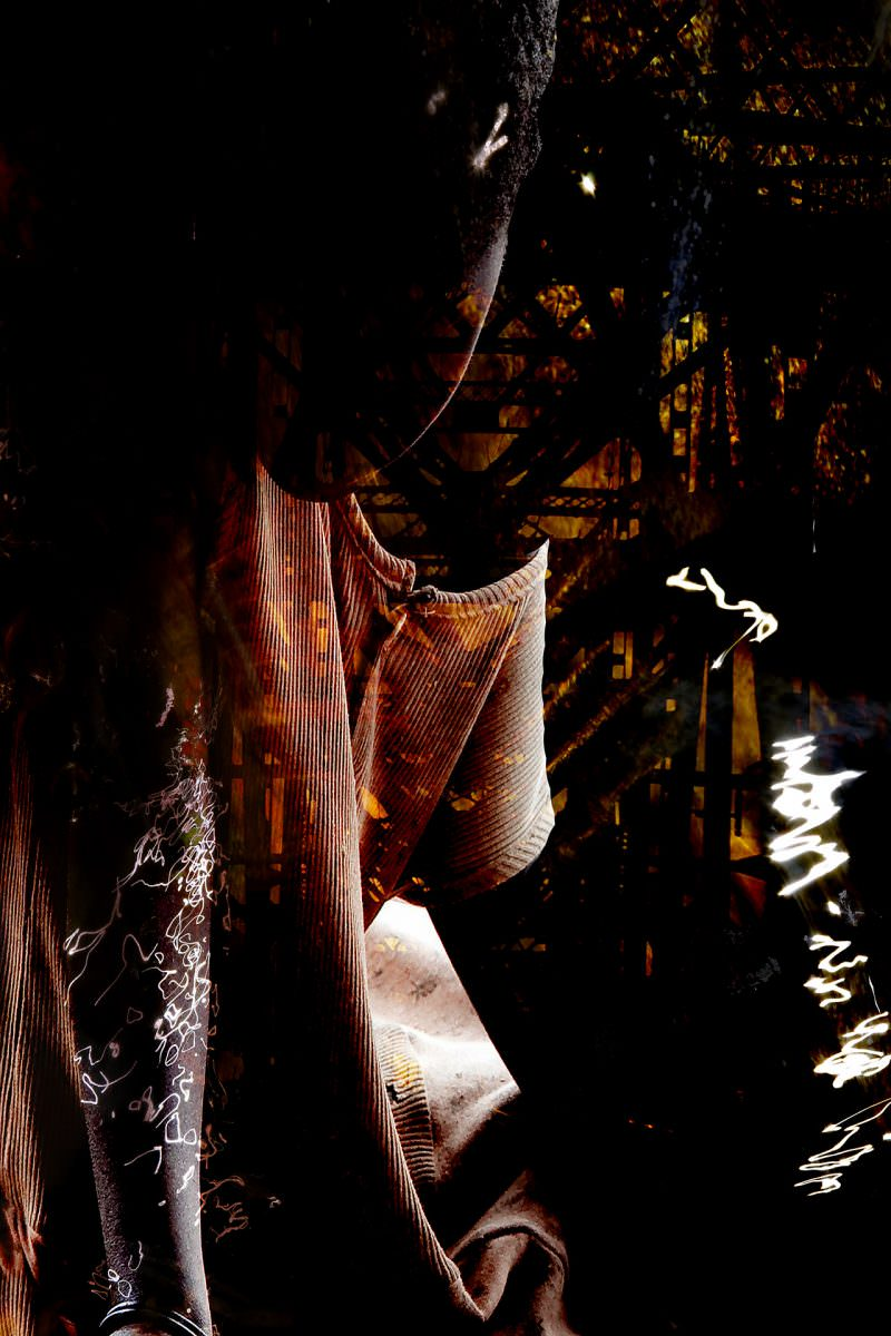 Sense of Beings 24 x 36 ~ Mixed Media Print by Kuzan Hemmitt