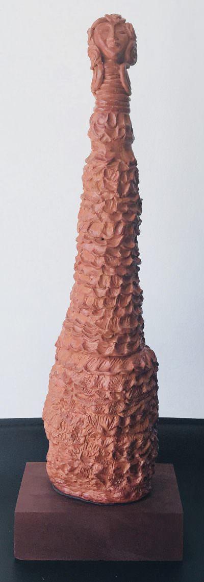 Seer #2 ~ Sculpture by Gia Labidi
