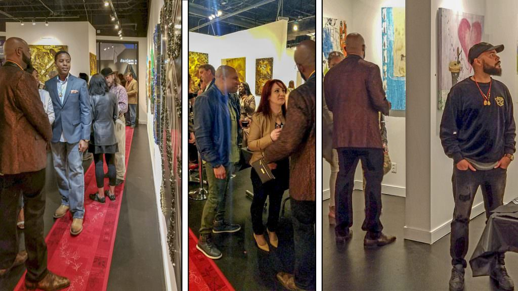 Join us for a First Friday Party at Gallerie Ukwensi!