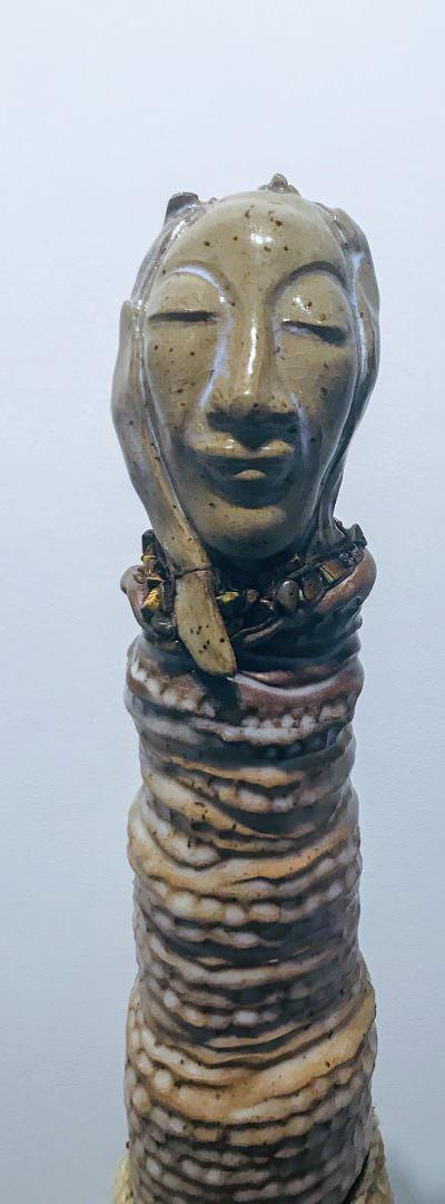 Hannah (Close Up) ~ Sculpture by Gia Labidi