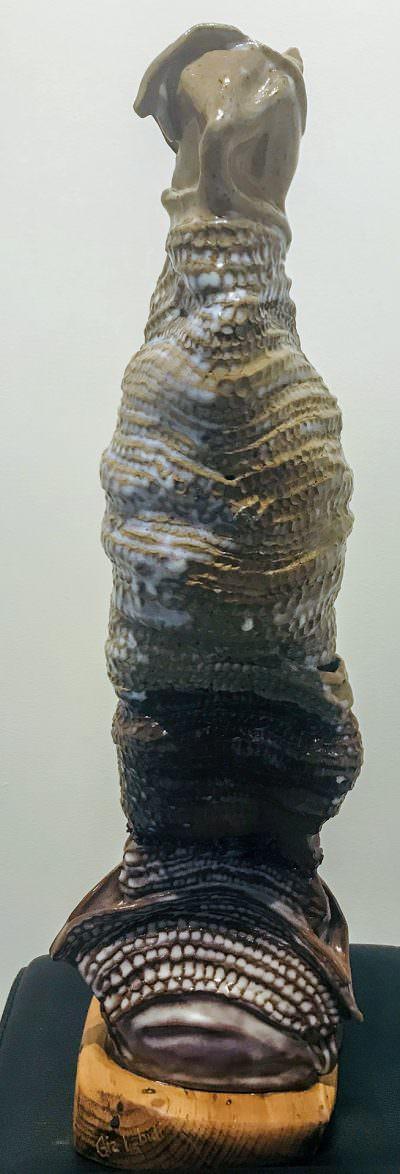 Quan Yin (Back) ~ Sculpture by Gia Labidi